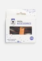 Larry's - Vegan leather cable - 8 pin lightning - black