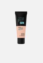 Maybelline - Fit Me® Matte + Poreless Foundation - 220 Natural Beige