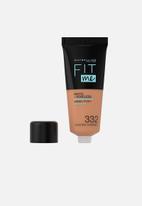 Maybelline - Fit Me® Matte + Poreless Foundation - 332 Golden Caramel
