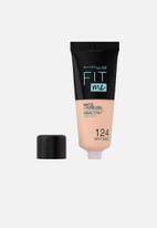 Maybelline - Fit Me® Matte + Poreless Foundation - 124 Soft Sand