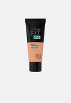 Maybelline - Fit Me® Matte + Poreless Foundation - 312 Golden