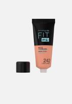 Maybelline - Fit Me® Matte + Poreless Foundation - 242 Light Honey