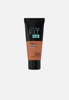 Maybelline - Fit Me® Matte + Poreless Foundation - 356 Warm Coconut
