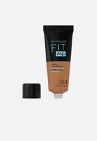 Maybelline - Fit Me® Matte + Poreless Foundation - 344 Warm Golden