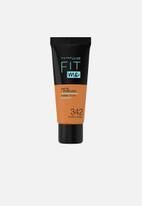 Maybelline - Fit Me® Matte + Poreless Foundation - 342 Warm Hazel
