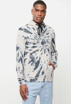 Cutty - Jacket sweater hoodie - white & grey