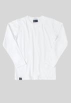 Quimby - Boys single jersey tee - white