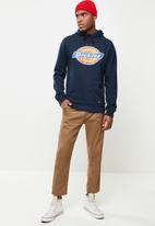 Dickies - Dickies 4 colour logo hoodie - navy