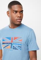 Ben Sherman - UK sliced tee - blue