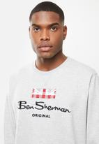 Ben Sherman - Original crew - grey