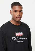 Ben Sherman - Original sweat top - black
