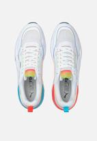 PUMA - X-ray² square rainbow - puma white-puma white-scuba blue-poppy red