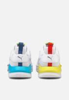 PUMA - X-ray lite rainbow - puma white-puma white-celandine-scuba blue