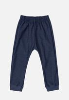 Quimby - Baby girls sweat pants - navy