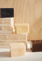 Typo - Large block candle - chocolate bar