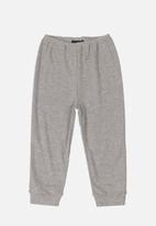 Quimby - Ribbed pants - grey