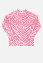 Quimby - Girls jacket - pink
