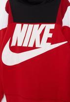Nike - Nike amplify fz hoodie - red & black