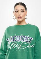 Missguided - Contrast rib sweater - green