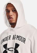 Under Armour - Ua rival terry big logo hd - onyx white / black
