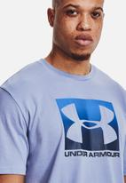 Under Armour - Ua boxed sportstyle ss - washed blue / blue circuit