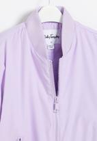 Ruby Tuesday - Kajal padded jacket - lilac