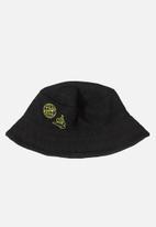 Quimby - Boys bucket hat - black
