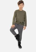 Quimby - Boys sweatpants - dark grey