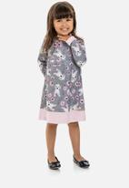 Quimby - Baby girls dress - grey