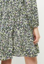 MANGO - Dress grass - green