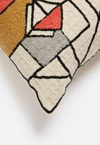 Sixth Floor - Puzzel cushion cover - multi