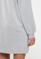 Blake - Sweater dress - light grey