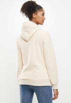 Aca Joe - Aca joe polar fleece pullover hoodie - neutral