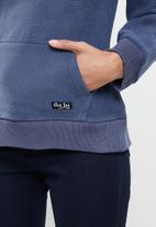 Aca Joe - Aca joe polar fleece pullover hoodie - blue