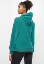 Aca Joe - Aca joe polar fleece pullover hoodie - green