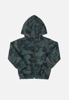 Quimby - Baby boys woven windbreaker jacket - dark green