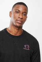 Ben Sherman - B crew top - black