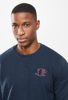 Ben Sherman - B sweat top - navy