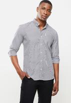Ben Sherman - Small ging shirt - black