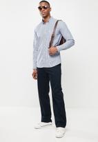 Ben Sherman - Small ging shirt - navy