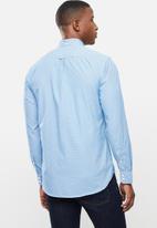 Ben Sherman - Small ging shirt - blue