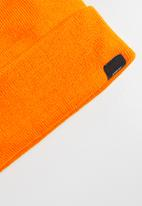 Superbalist - Ribbed knit beanie - orange