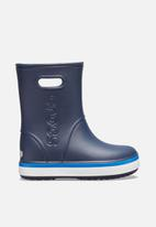 Crocs - Crocband rain boot k - navy/bright cobalt