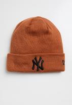 New Era - Knit league essential cuff neyyan - burnt orange