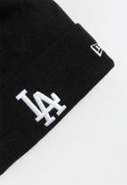 New Era - Knit mlb essential cuff losdod - black