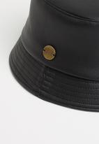 Simon & Mary - Cactus-bucket hat - black
