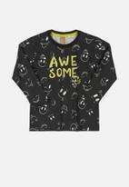 UP Baby - Boys awesome tee - black