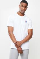 Nautica - Nautica circle short sleeve tee - white