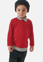 UP Baby - Boys golf tee - red
