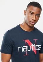 Nautica - Nautica n short sleeve tee - navy